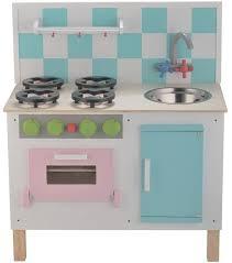 jouet de cuisine pour fille cuisine de dînette en bois de luxe pastel chez les enfants