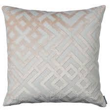 24x24 Decorative Pillows Alessandra Blush Decorative Pillows