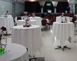 Banquet Table Linen - highboy table information group r products
