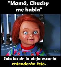 Memes Mama - dopl3r com memes mamá chucky me habla filosóraptor c c