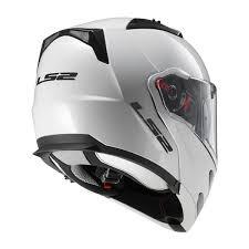 ls2 motocross helmet ls2 metro white modular helmet jafrum