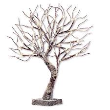led light tree branches amazon com frosted led lighted tabletop tree branches decoration