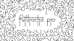 schrift design høly entwickelt die schriftart futuracha pro klonblog