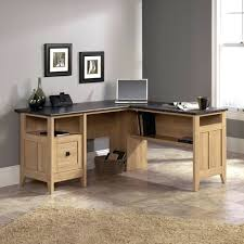 L Shaped Desk Canada Desk Home Office Desks For Sale Canada Sauderar August Hill L