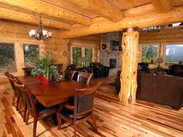 Log Home Interior Designs Decoration Ideas Fetching Parquet Flooring In Pictures Of Log