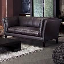 Loveseat Black Leather Living Room Restoration Hardware Sofas Kensington Sofa Maxwell