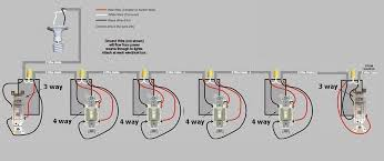4 way switch wiring diagram multiple lights unusual wire 4 way and 2 lights pictures inspiration electrical