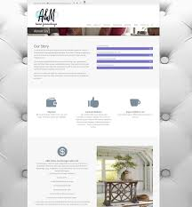 new website for a u0026 m home furnishings in overland park pilcher