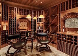 interior uniwue home wine cellar designs with transparent glass