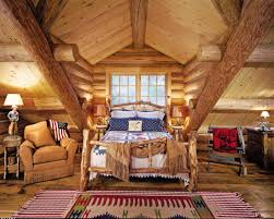 grotesque rustic bed wooden bedroom design and photos