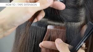diy hair extensions diy in hair extensions tutorial