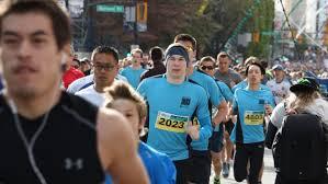 sun run 2016 vancouver sun run underway with more than 40 000 runners