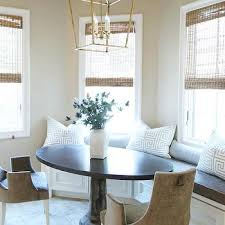 curved breakfast nook design ideas