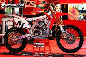 factory motocross bikes justin barcia u0027s factory honda crf450r motocross com sx mx