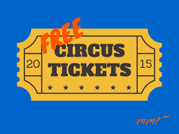 free ringling brothers circus tickets my mommy flies