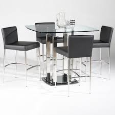 contemporary counter height table dining room beautiful image of dining room decoration using