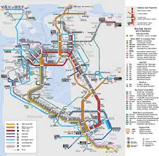 San Francisco County Map by Bay Area 2050 The Bart Metro Map U2013 Future Travel