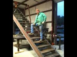 spicewood metalworks custom stair building project youtube