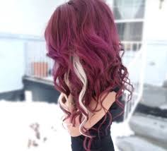 blonde and burgundy hairstyles black hair with burgundy ombre best women blog alexis bday