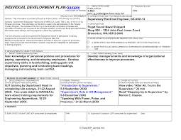 doc 680852 personal development action plan template u2013 sample