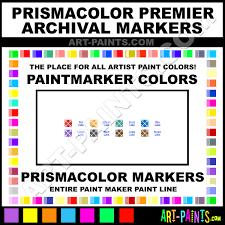prismacolor premier archival paintmarker marking pen colors