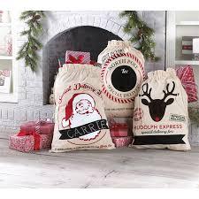 santa sacks canvas santa sacks 3 designs