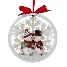 our together snowcouple ornament
