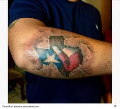 you can u0027t get much more texas than these tattoos houston chronicle