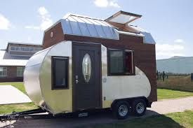 Tiny Furniture Trailer by Frankenstein Like Teardrop Trailer Fused With Tiny House