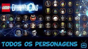 gameplay lego dimensions todos os personagens desbloqueados