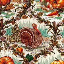 quarter turkey fall fabric thanksgiving fabric turkey