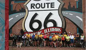 Route 66 Illinois Map by Route 66 Trail Guide Ride Illinois Ride Illinois