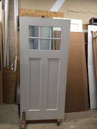 jeld wen craftsman smooth 3 panel primed molded prehung 300 499 doors north jersey door