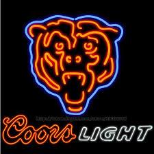 coors light bar sign 2018 coors light bear neon sign disco ktv bar sign display