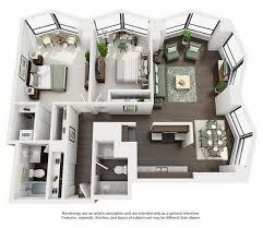 Chicago Apartment Floor Plans North Harbor Tower Floor Plans Studio One Bedroom Two Bedroom