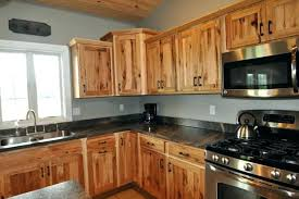 Hickory Cabinet Doors Hickory Kitchen Cabinets Kitchen Design Pictures Rustic Hickory