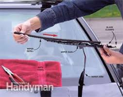 how to change wiper blades the family handyman