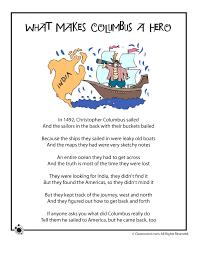 columbus day poem what makes columbus a woo jr