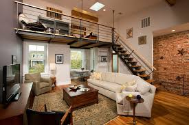 awesome loft style living room living room scandinavian with