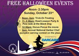 halloweem 12pm harbor halloween national harbor national harbor