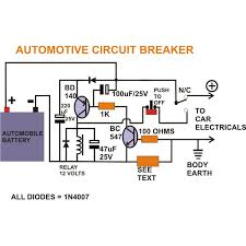 how to build a smart automotive circuit breaker a permanent