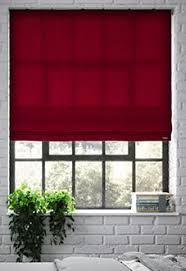 shades of red list red roman blinds roman blinds