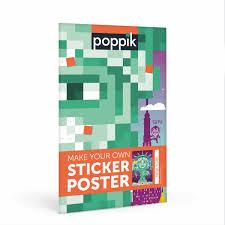 poster pour enfant poppik des posters géants à compléter avec des stickers