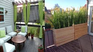 privacy screen for deck porch and patio railings home design