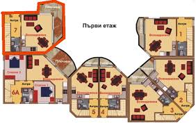 semi detached house floor plan 2 bedroom semi detached house 3 km from albena