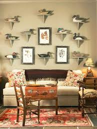 Hunting Decor For Living Room by 16 Ways To Showcase Your Collections Display Men Cave And Room