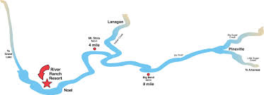 River Map River Maps River Ranch Resort