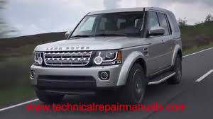 land rover discovery lr4 2009 2012 service repair manual youtube