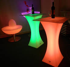 led square cocktail table led furniture thailand