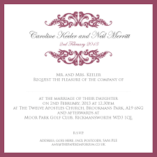 wording for wedding reception only invitations free printable